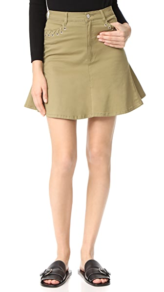 The Fifth Label Stevie Skirt In Khaki