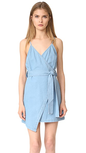 The Fifth Label Blue Eyes Dress - Light Washed Denim
