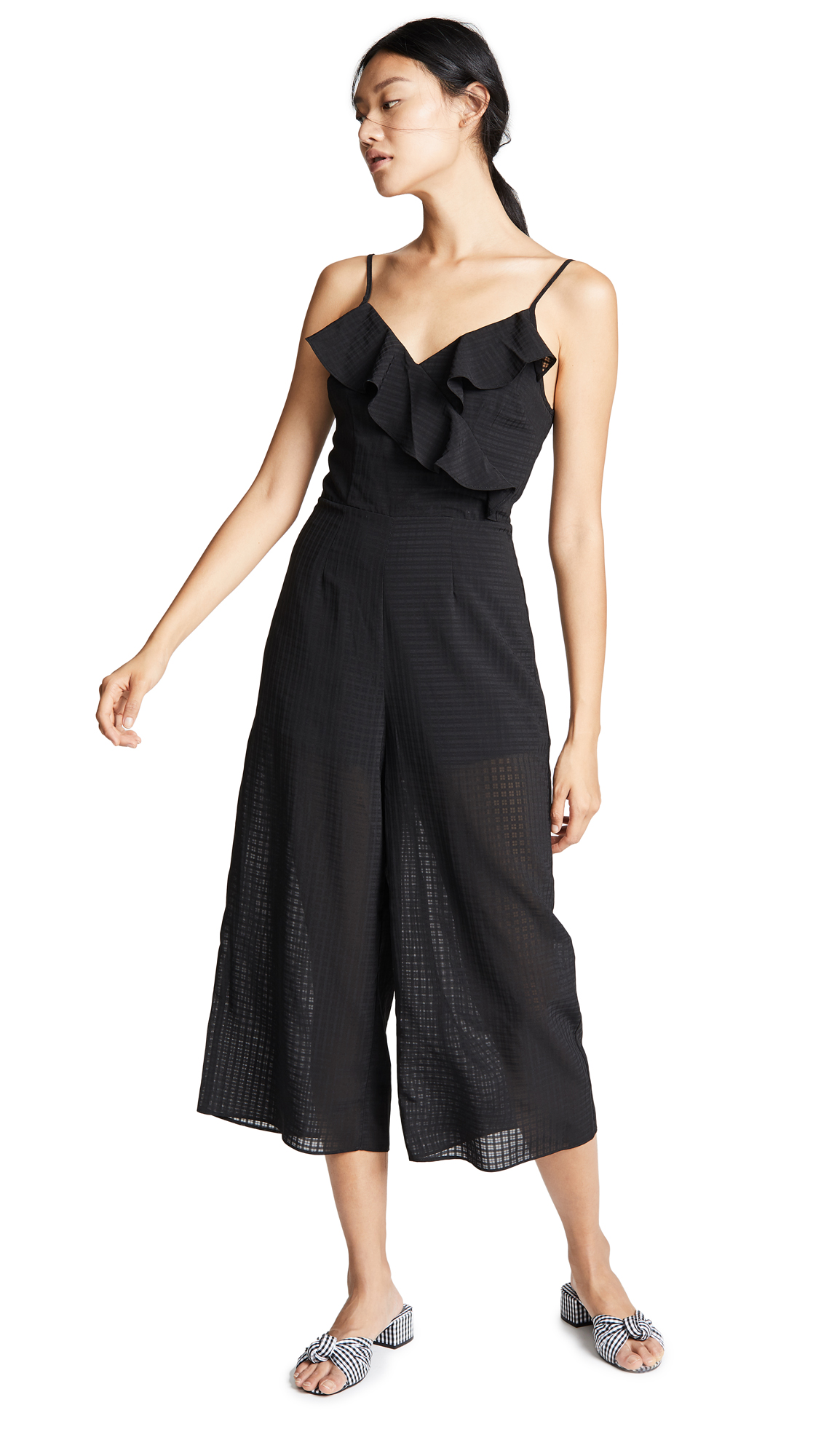 THE FIFTH LABEL WINDOW JUMPSUIT
