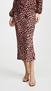 The Fifth Label Leopard Skirt