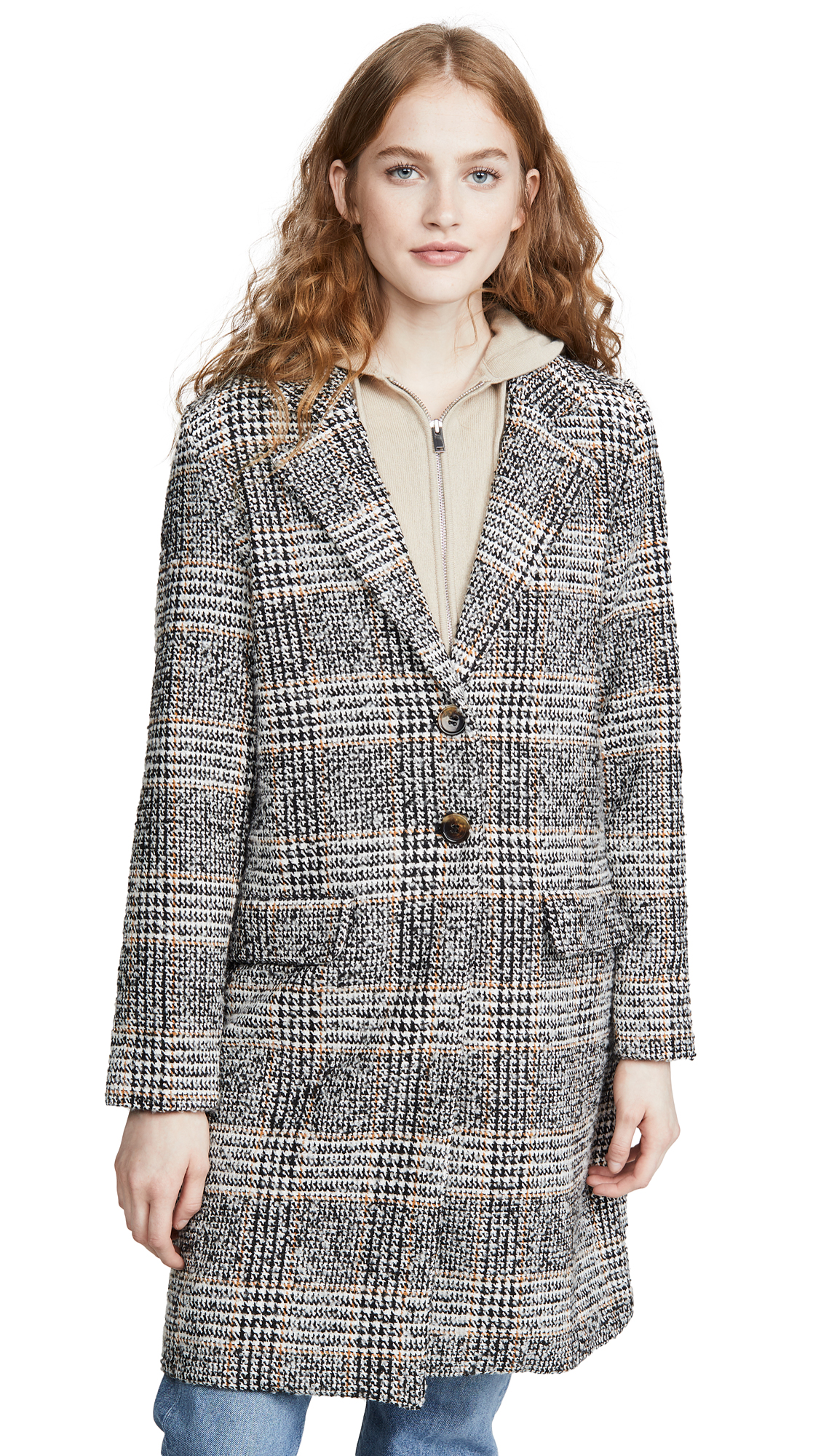 Buy The Fifth Label online - photo of The Fifth Label Project Check Coat