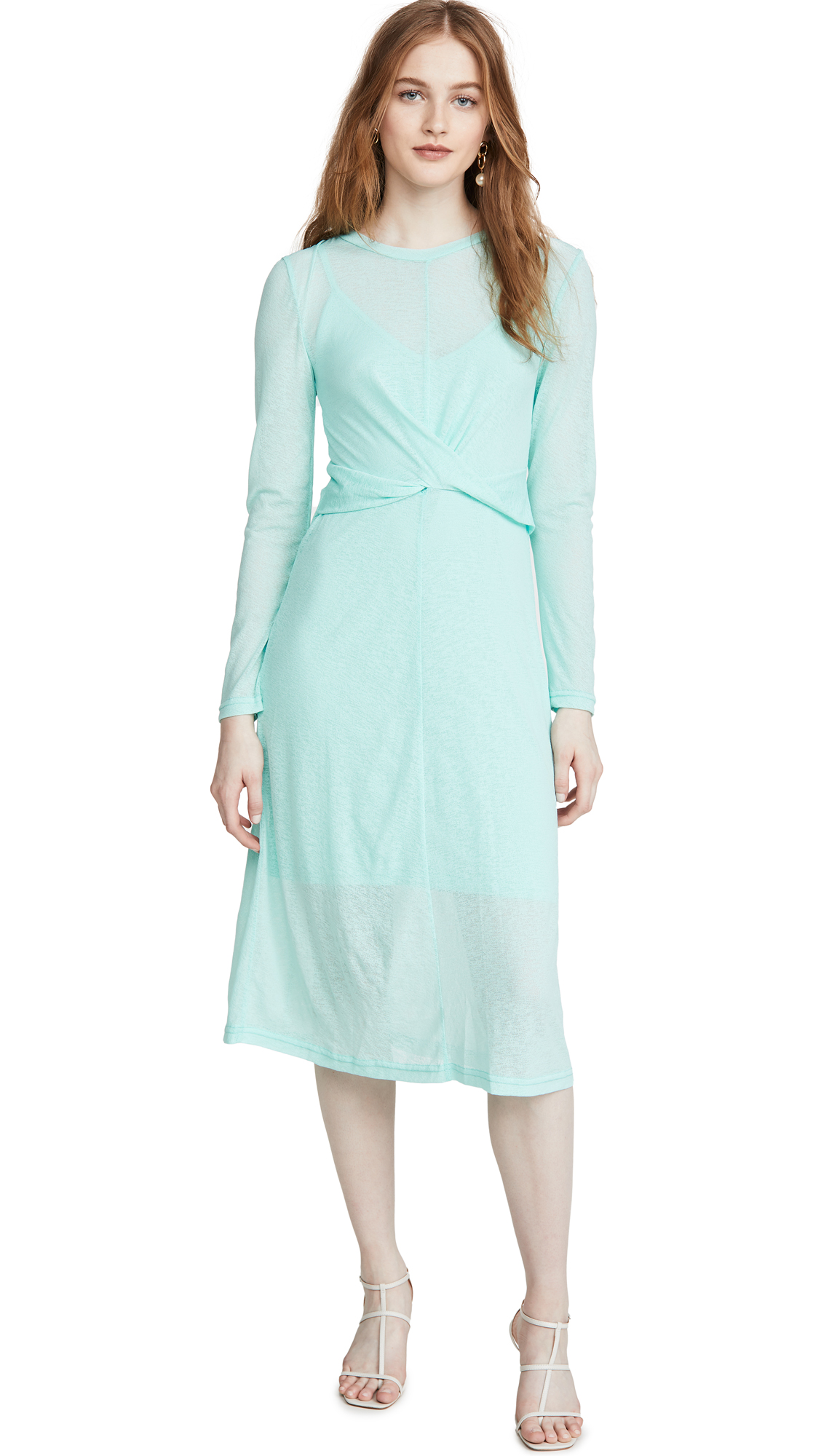 The Fifth Label Own Light Long Sleeve Midi Dress - 40% Off Sale