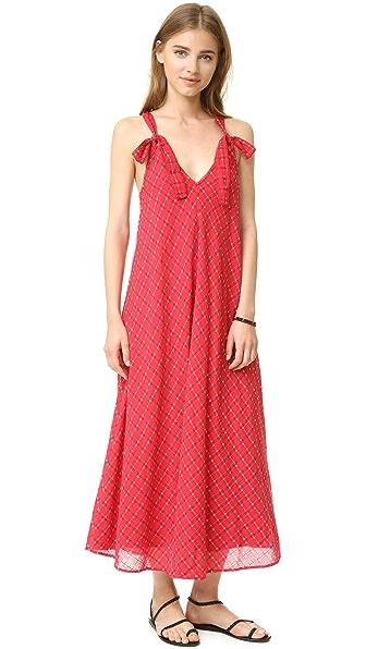 THE GREAT. The Tea Length Garden Gown