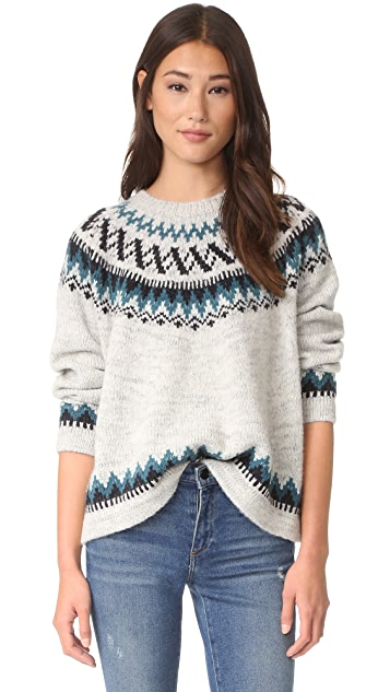 THE GREAT. The Chalet Sweater
