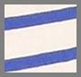 Blue & Cream Stripe