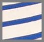 Blue/Cream Stripe