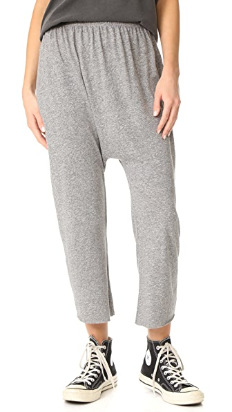 THE GREAT. Harem Pants - Heather Grey