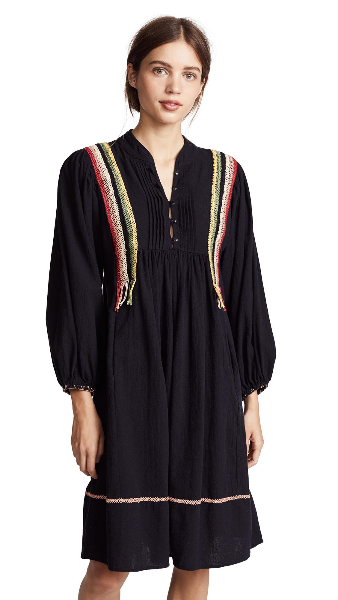 mandarin collar relaxed fit shirt dress