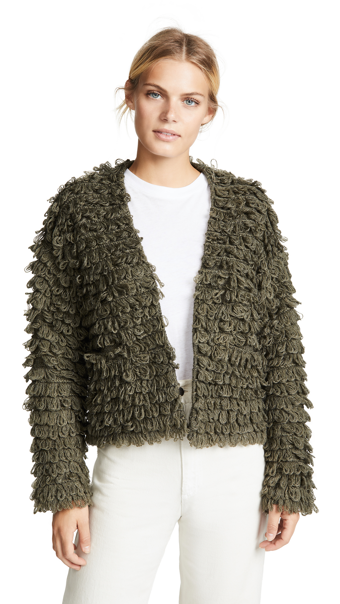The Short Monster Cardigan, Army