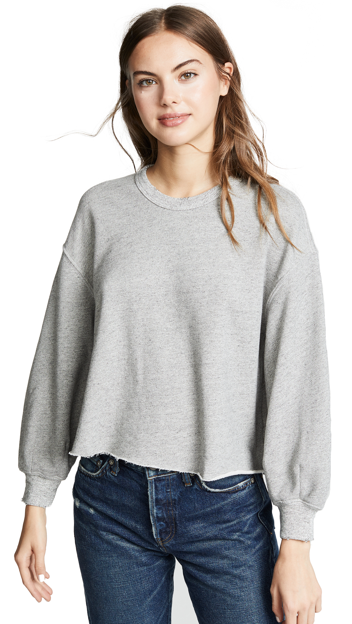 The Great THE CUTOFF SWEATSHIRT