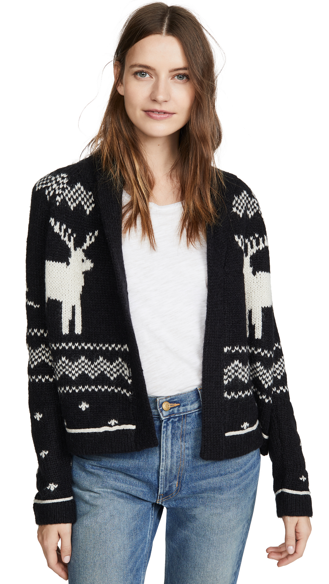 Buy THE GREAT. online - photo of THE GREAT. The Reindeer Lodge Cardigan