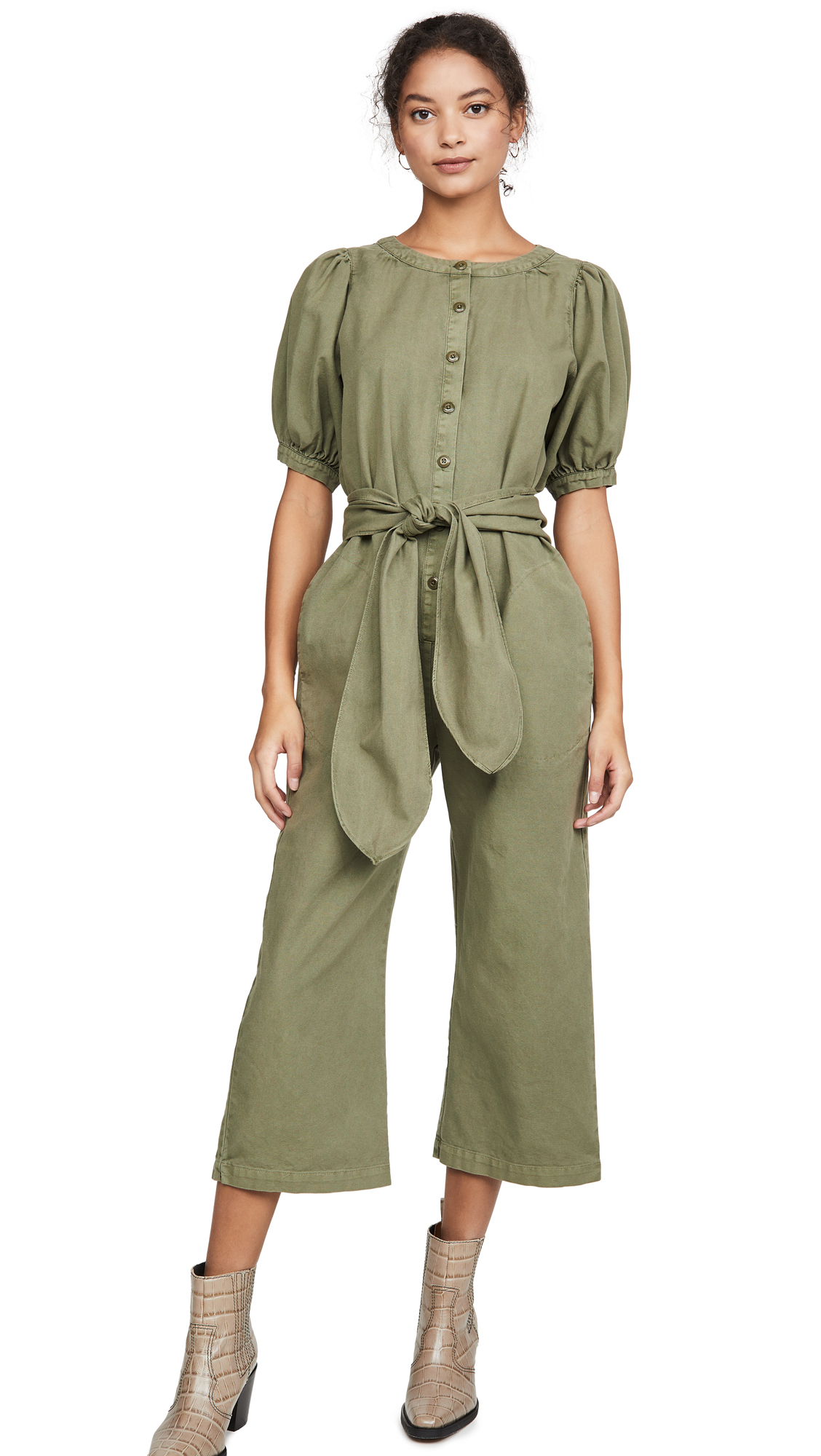 Buy THE GREAT. online - photo of THE GREAT. The Homeroom Jumpsuit