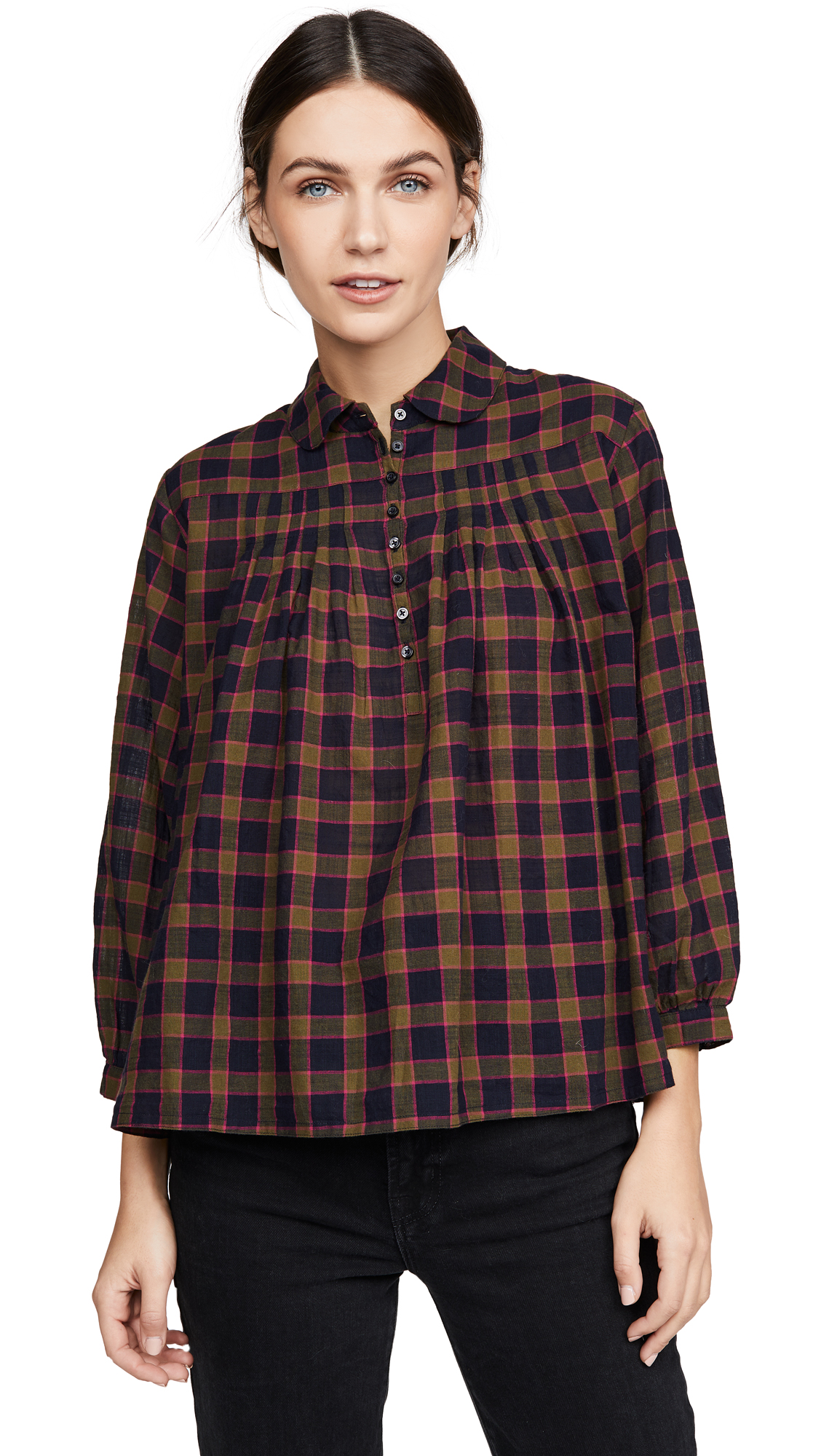 THE GREAT. The Lowland Top - 40% Off Sale