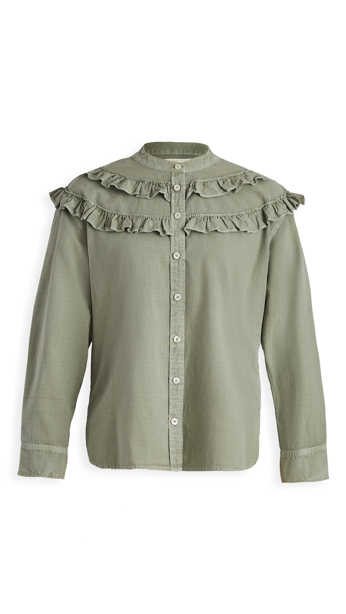 THE GREAT. The Nettle Shirt. - 30% Off Sale