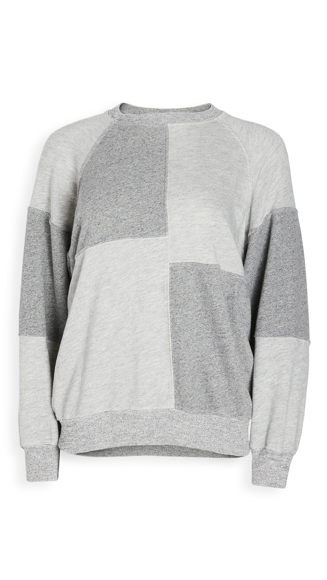 THE GREAT. The Patchwork Sweatshirt. - 30% Off Sale