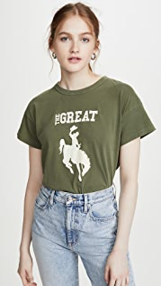 THE GREAT. Boxy Cowgirl Tee