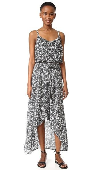 TIARE HAWAII Dune Maxi Dress - Dawn Black/Gray