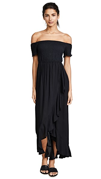 TIARE HAWAII Cheyenne Dress in Black