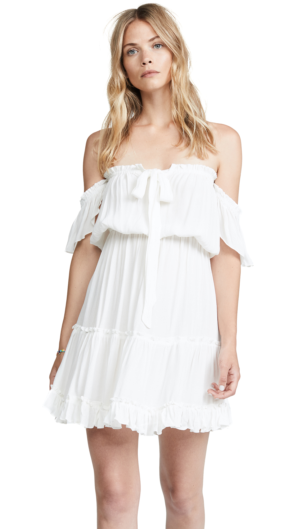 TIARE HAWAII Ella Dress in Off White
