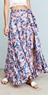 TIARE HAWAII Azure 裹身式半身裙