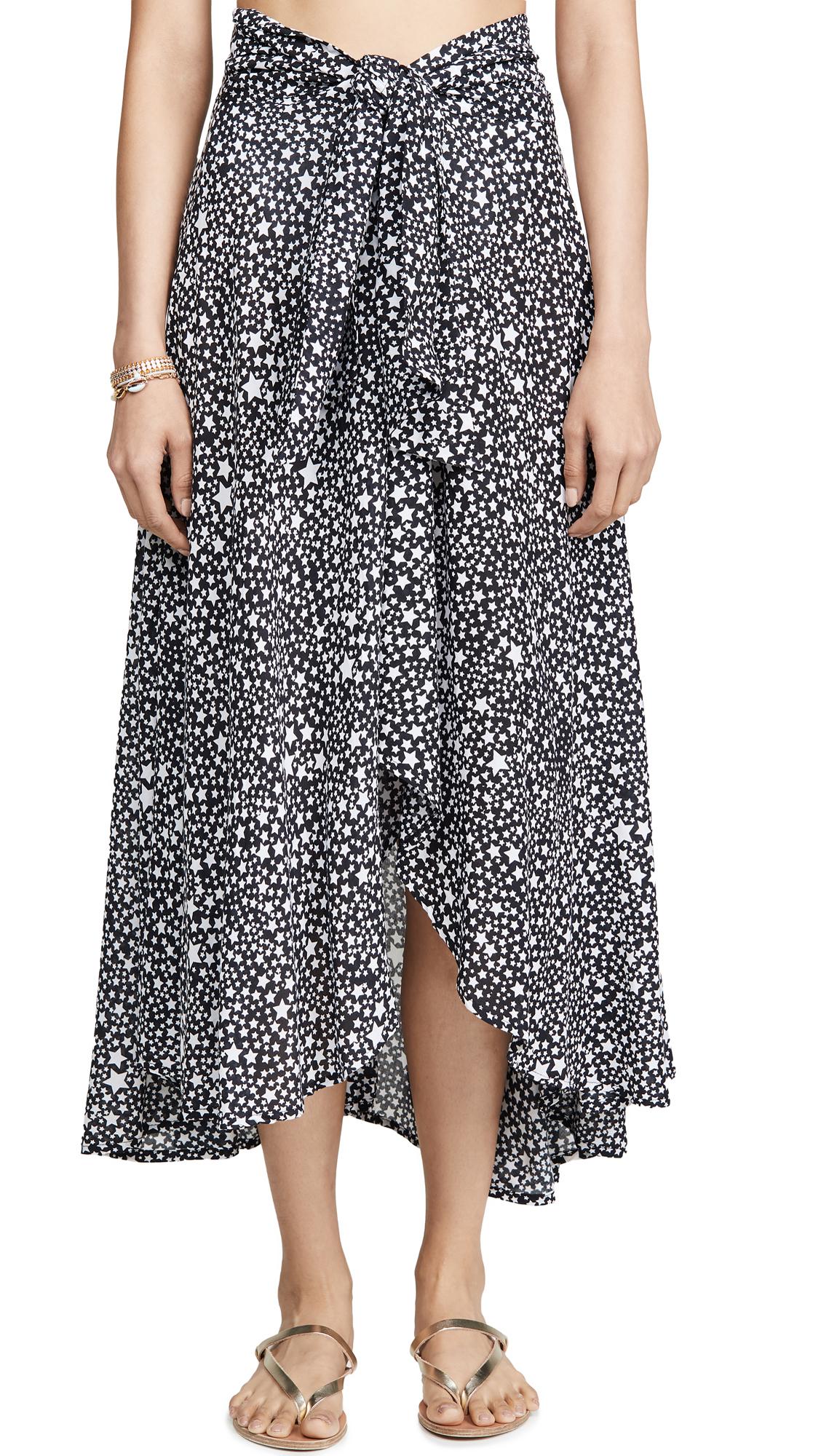 Buy TIARE HAWAII online - photo of TIARE HAWAII Azure Wrap Skirt