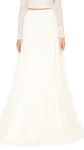 Theia Tilly Spanish Tulle Skirt at Shopbop