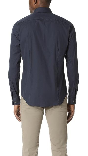 Theory Sylvain Solid Dress Shirt