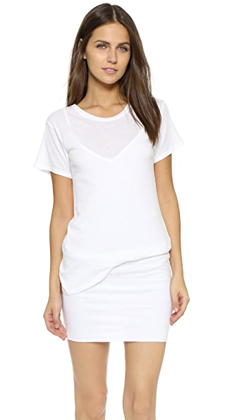 Theory Extremis Toasta Dress - White