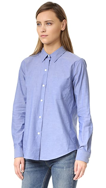 Theory Icon Shirting Perfect Button Down