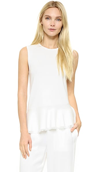 Theory Briselle Sweater Top - Eggshell at Shopbop