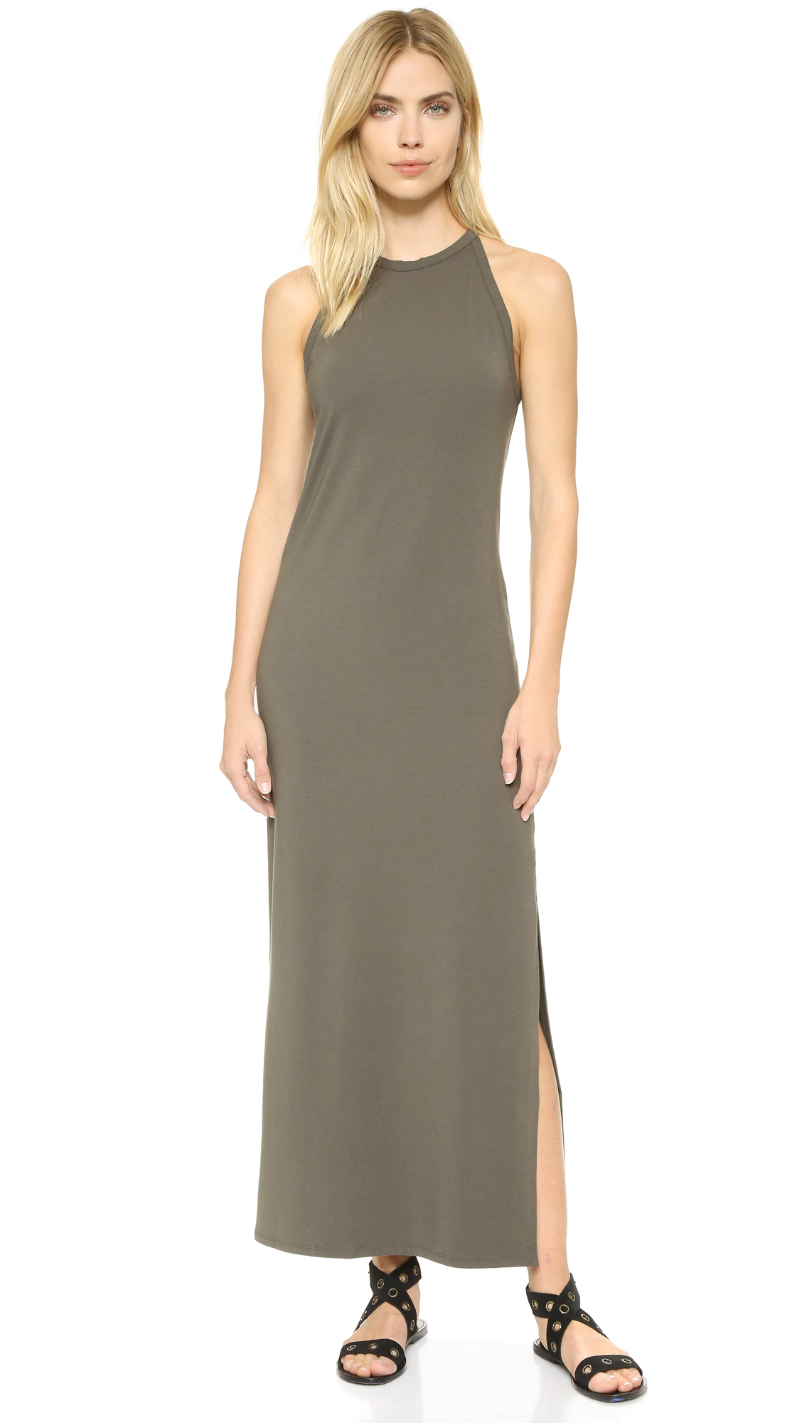 Theory Sonaki Maxi Dress | 15% off first app purchase with code ...