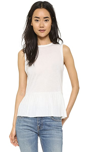 Theory Elvnee Top - Ivory at Shopbop