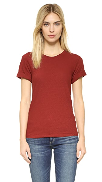 Theory Leibay Tee - Red Oak at Shopbop