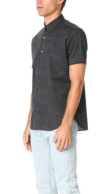 Theory Benner Ilium Short Sleeve Shirt