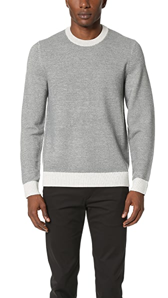Theory Blakes Wool Crew Sweater