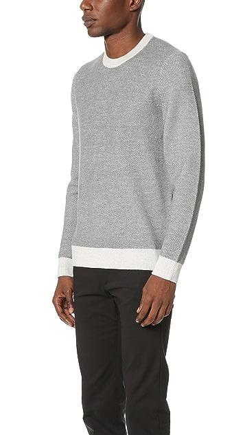 Theory Blakes Wool Crew Sweater