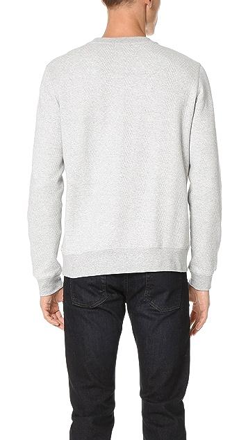 Theory Danen Modular Sweatshirt