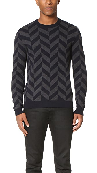 Theory Herrigs Wool Crew Sweater