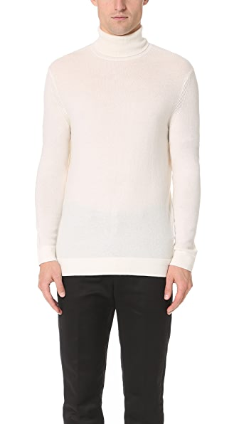 Theory Donners Cashmere Turtleneck Sweater