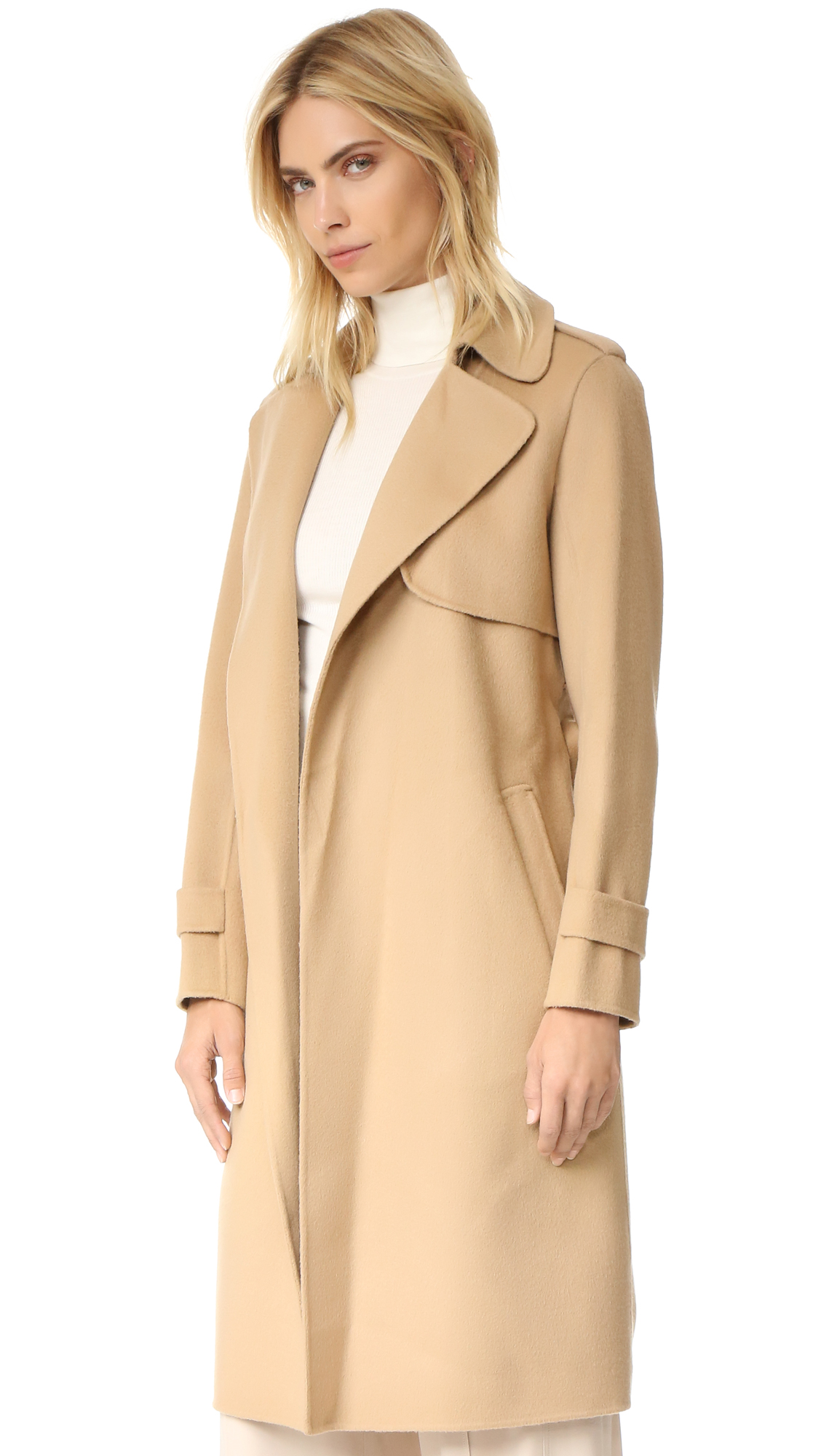 884e3ddb673 Theory Oaklane Double Faced Wool Coat | SHOPBOP