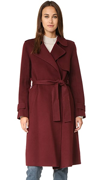 Theory Oaklane Wool Coat