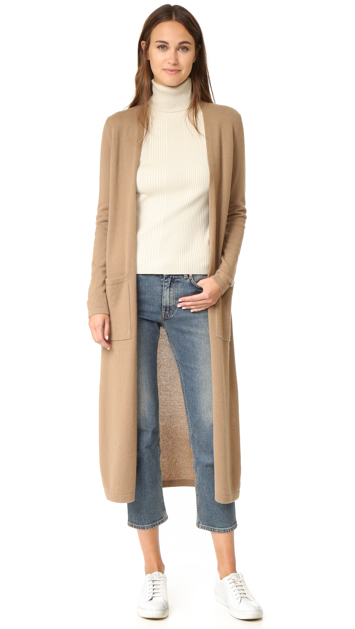 Theory Torina Long Cashmere Cardigan | SHOPBOP