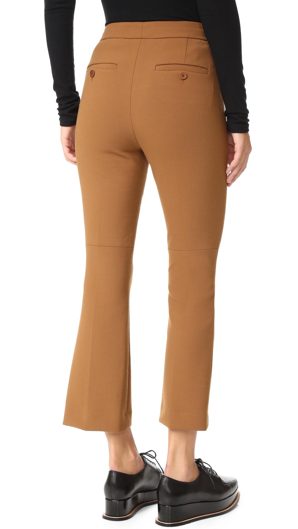 cropped trousers - Brown Theory 1JaEWFuJ