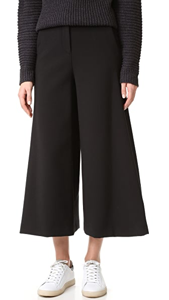 Theory Henriet Culotte Pants - Black