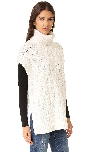 Theory Boseley C Sleeveless Sweater
