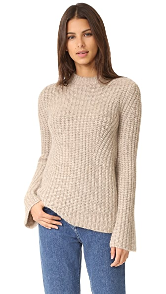Theory Bestella Sweater - Oatmeal