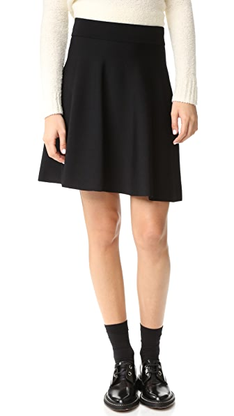 Theory Doritta Skirt - Black