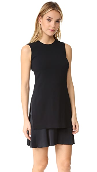 Theory Malkan PM Dress - Black