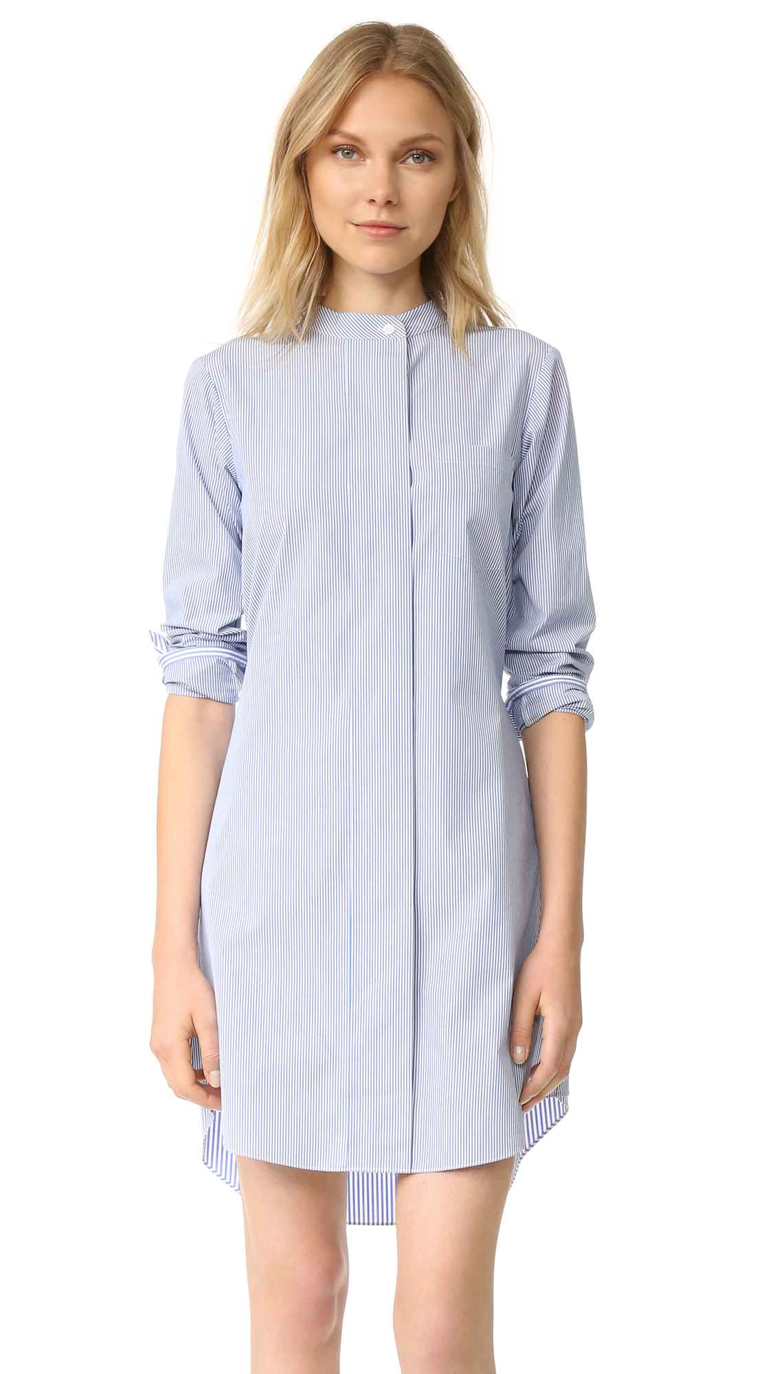 Theory Jodalee Dress - Blue/White at Shopbop