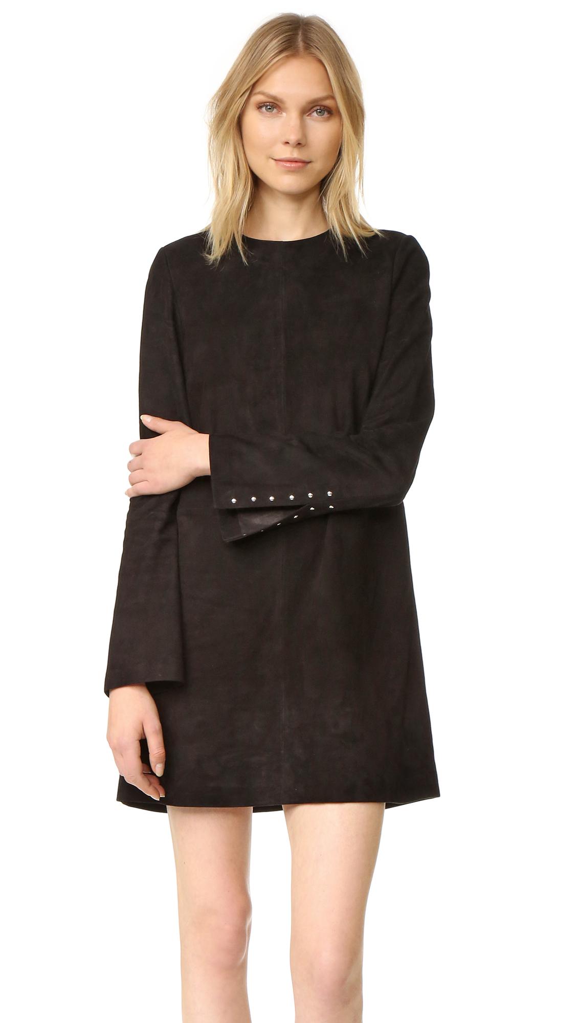 Theory Komiza Dress - Black at Shopbop